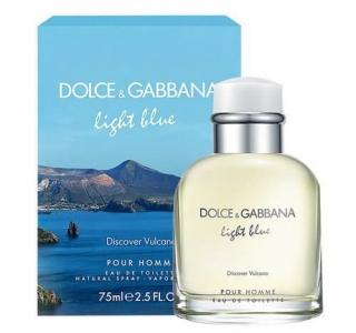 Light Blue Discover Vulcano Pour Homme